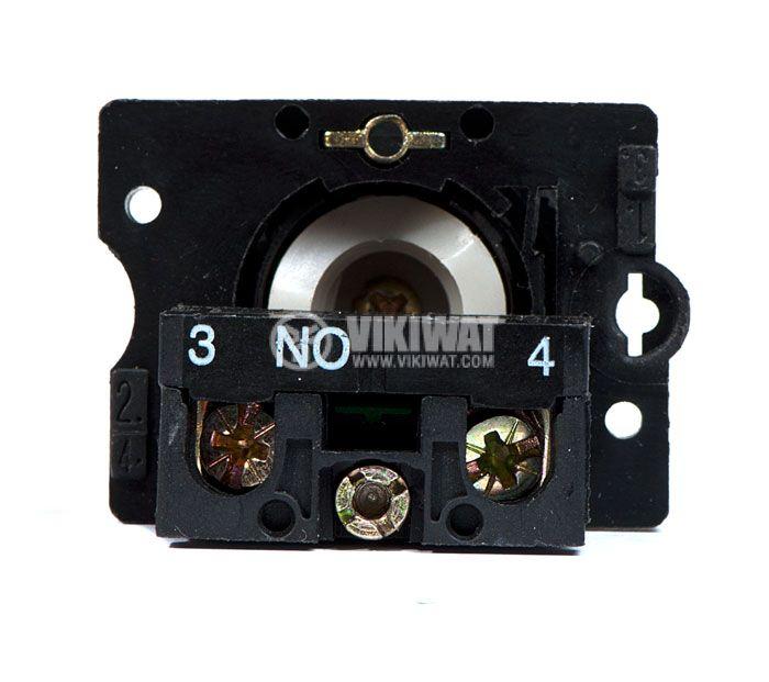 Button Switch LAY5, 400VAC, SPST-NO - 4