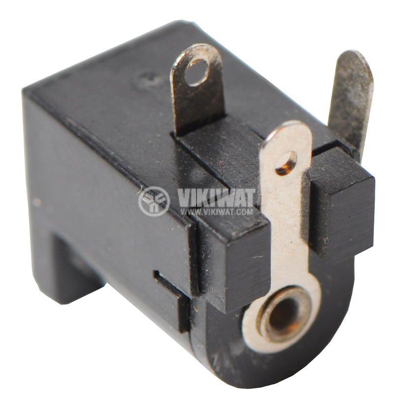 Power DC socket, M, 5.5x2.1mm - 2
