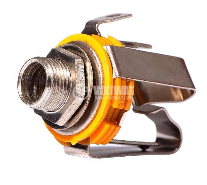 Конектор, 6.3mm, стерео F - 1