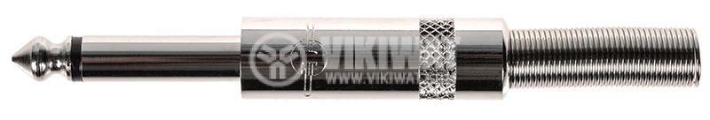 Connector, 6.3mm, mono - 1