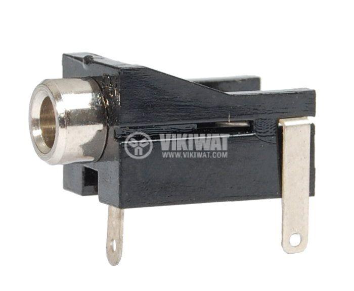 Конектор, 3.5mm, моно, F - 1