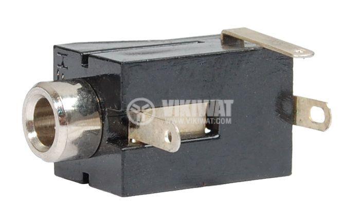 Конектор, 3.5mm, моно, F - 2