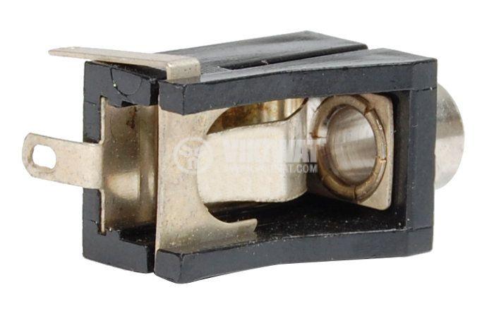 Конектор, 3.5mm, моно, F - 3