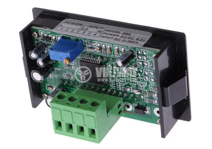 Волтметър цифров, 0-600V AC, SFD-85 - 2