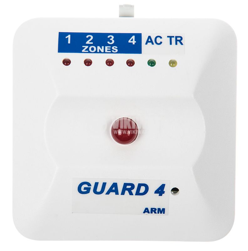 Security alarm system-central GUARD4, 220VAC - 6