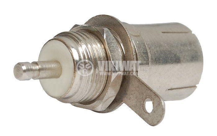 Конектор, RF F, за панел - 2