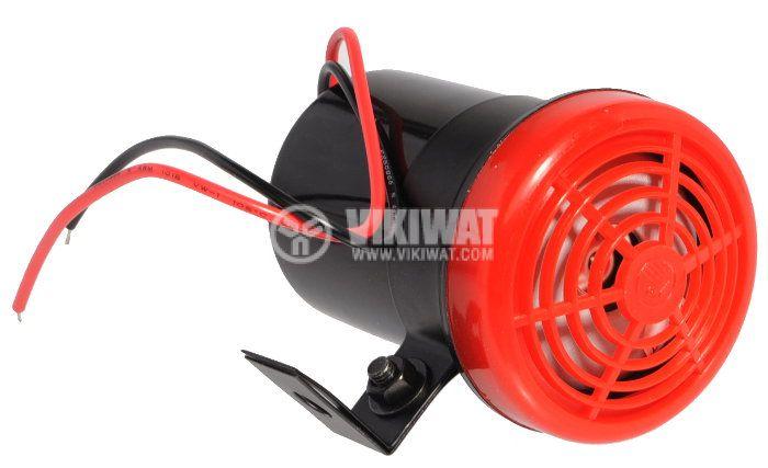 Piezo siren, KPS-G6028, 12 VDC, 100 dB, 2 kHz - 2