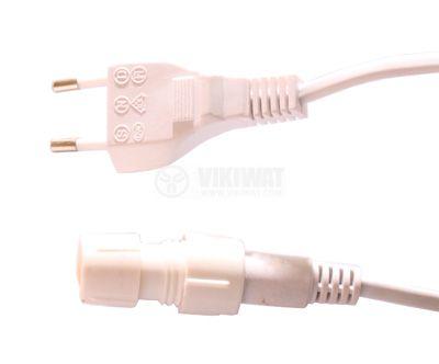 Захранващ кабел за светещ маркуч 0.8 m