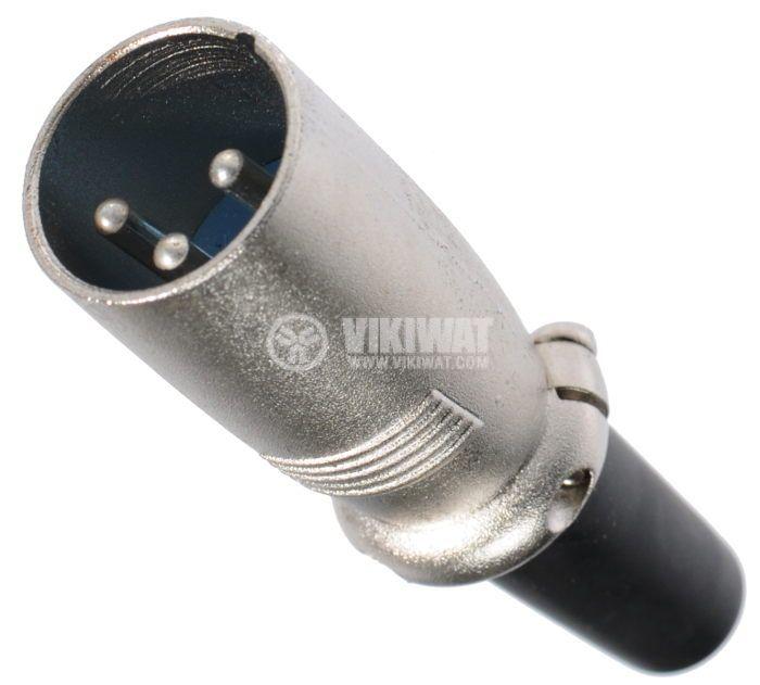 Професионален аудио конектор CANON M, XLR-3MCL - 1
