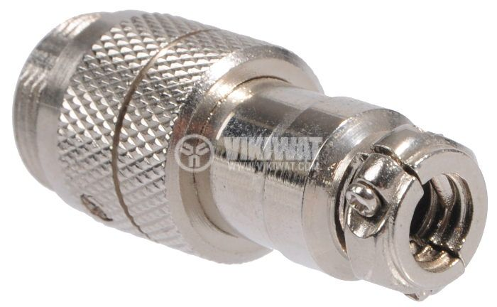 Connector, 7 pin, male, metal - 3