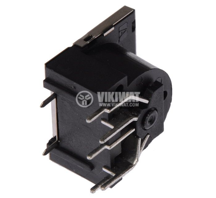 Socket Connector 5-pins, female, PCB mounting - 3