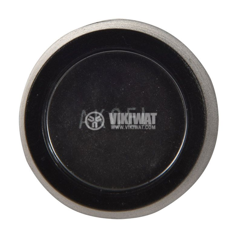 Button, 15A/12VAC, NO - 3