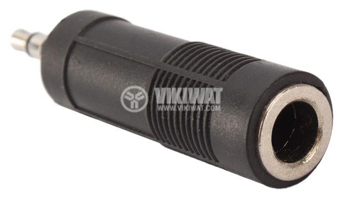 Преход, plug 3.5 stereo M-plug 6.3 stereo F - 2