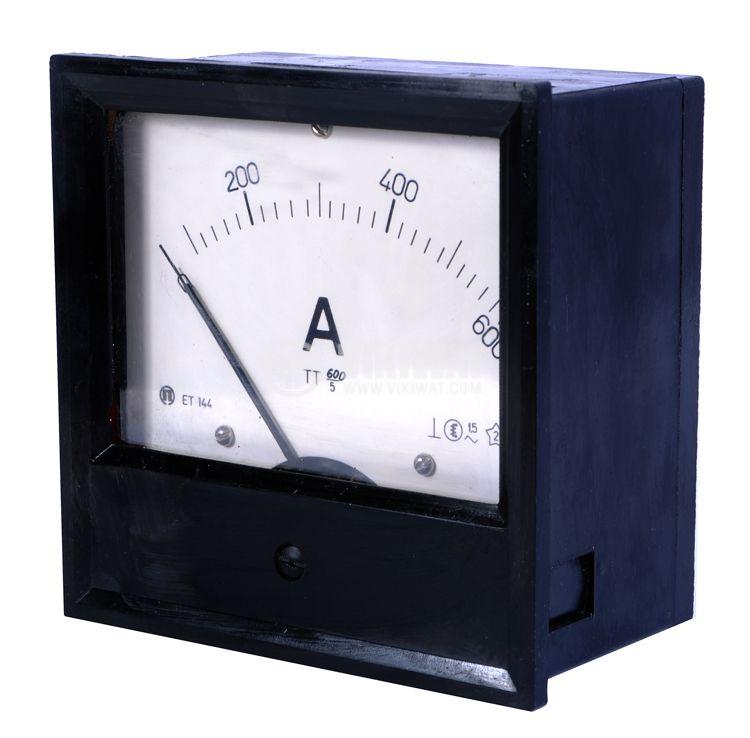 Амперметър ET144, 600 A, AC  с външен токов трансформатор