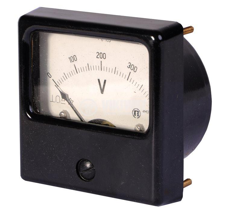 Волтметър, 400 V/DC, 4M32,  72x72 mm