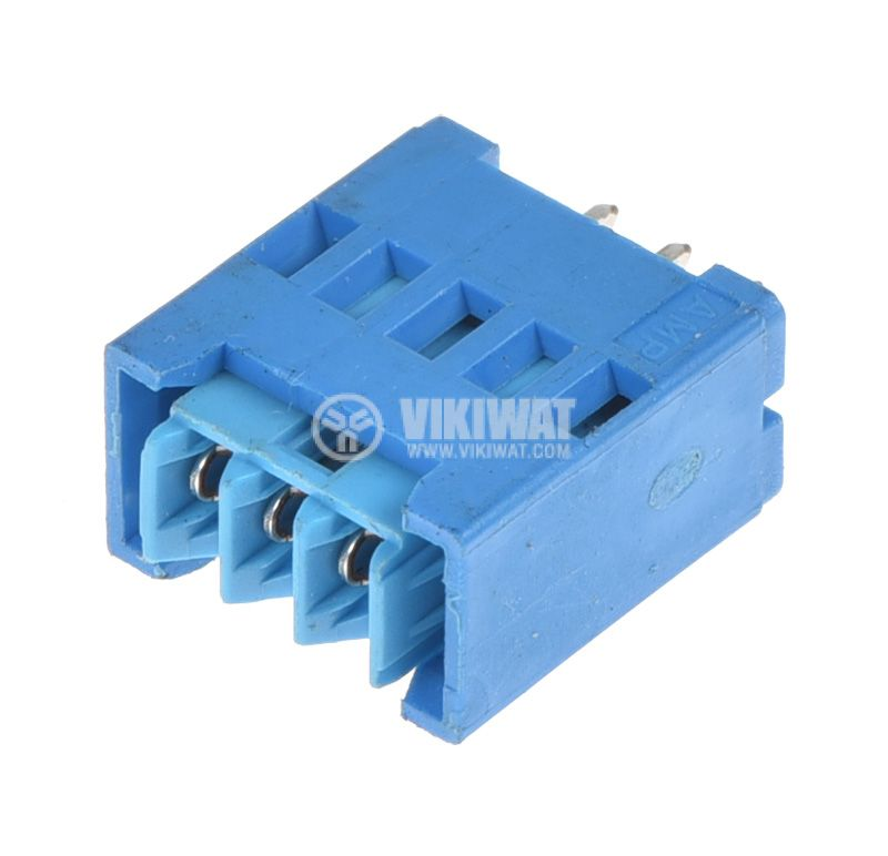 Connector, socket, set, 3pin, 2.54mm pitch, THT - 2