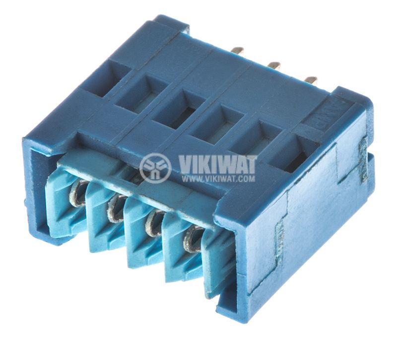 Socket connector, kit, 4pins, 2.54mm pitch, THT - 2