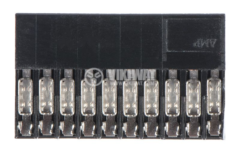 Connector 2x10, 2.54mm pitch, female - 3