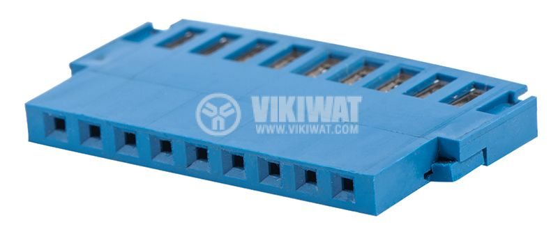 Connector female, 9pin, 0.75mm2 - 1