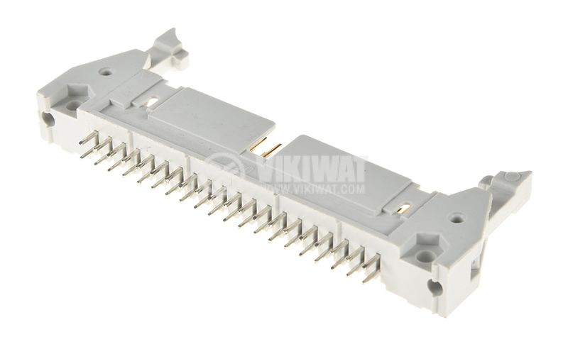 40 Pin Ribbon cable Connector, IDC DC2(40P), male, 2.54mm - 1