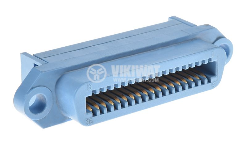 Parallel port centronics, IEEE 1284, 36pin, female - 1
