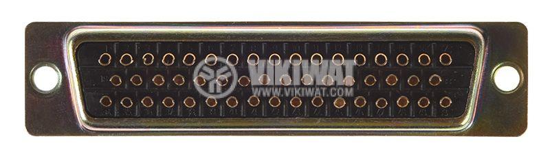 D-Sub конектор, 50 пина, женски - 2
