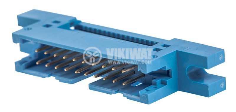 Ribbon cable connector, IDC20, male, straight, 2x10 - 1