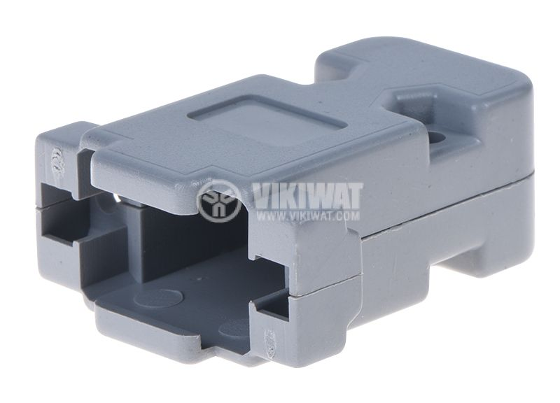 Connector housing D'SUB, CY-0076-9P, 9pin - 1