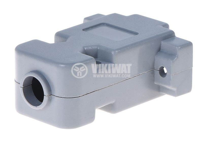 Connector housing D'SUB, CY-0076-9P - 3