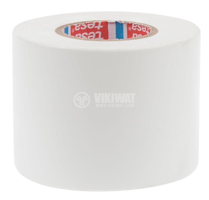 PVC insulating tape, tesa Universalband, width 50mm x length 20m, white - 3
