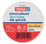 PVC insulating tape, tesa Universalband, width 50mm x length 20m, white