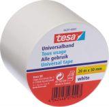 Универсална бяла изолационна лента tesa 56201-00001, 20m/50mm