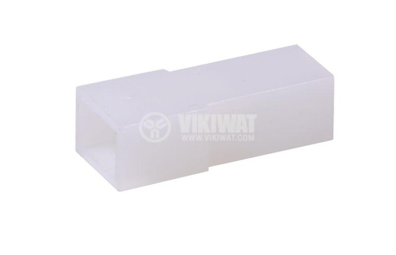 Съединител, букса за контактен накрайник 6.3 mm, женски, CYK 101D - 1