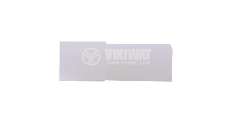 Съединител, букса за контактен накрайник 6.3 mm, женски, CYK 101D - 3