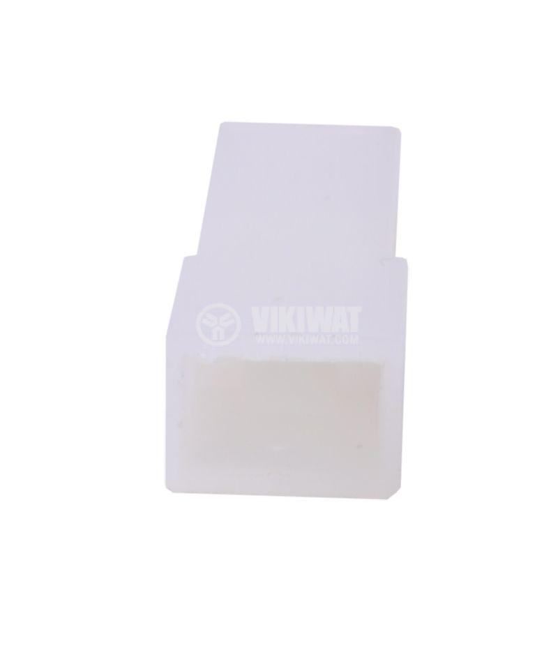 Съединител, букса за контактен накрайник 6.3 mm, женски, CYK 101D - 4