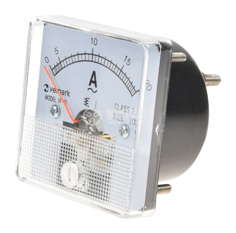Амперметър, 20 A, AC, VF-50, директен - 1