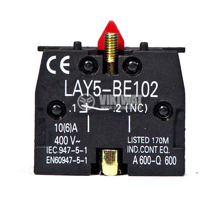 Контактен блок LAY5-BE102 10A/400VAC SPST-NC - 1