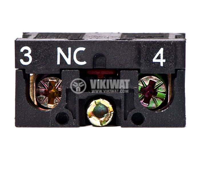 Contact block LAY5-BE102 10A/400VAC SPST-NC - 5