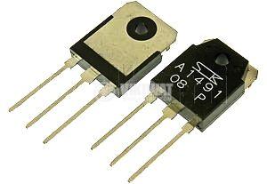 Транзистор 2SA1491, PNP, 140 V, 100 W, 20 MHz