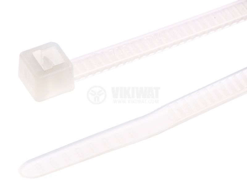 Cable tie UB150B-N-PA66-NA, 150mm, white - 2