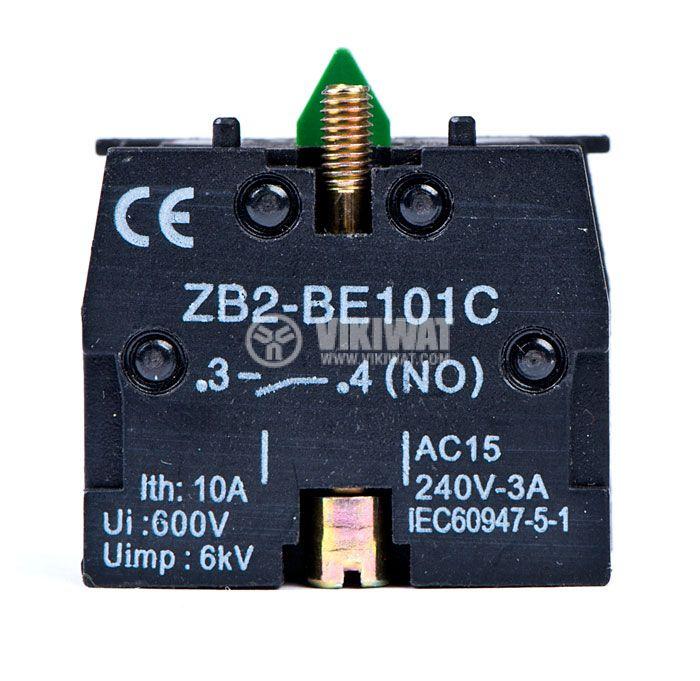 Контактен блок LAY5-BE101 10A/400VAC SPST-NO - 1