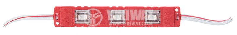 LED module 3led, 1.2W, 12VDC, waterproof, red
