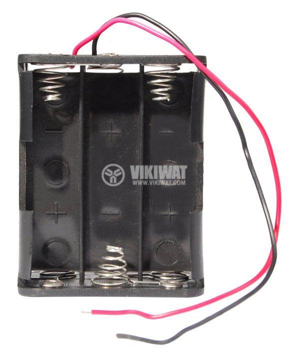 Държач за батерии, AAx6 - 1