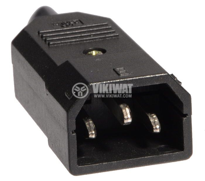 Power supply connector C14, 250V, M, 10A   - 2