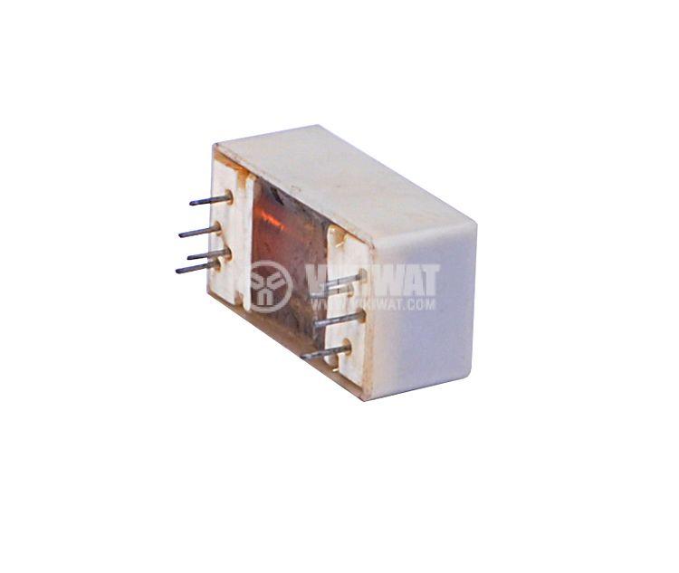 Реле електромагнитно, РПГ-3-2302УЗ, 24VDC 60VDC/1.0A DPDT-2NO+2NC - 3
