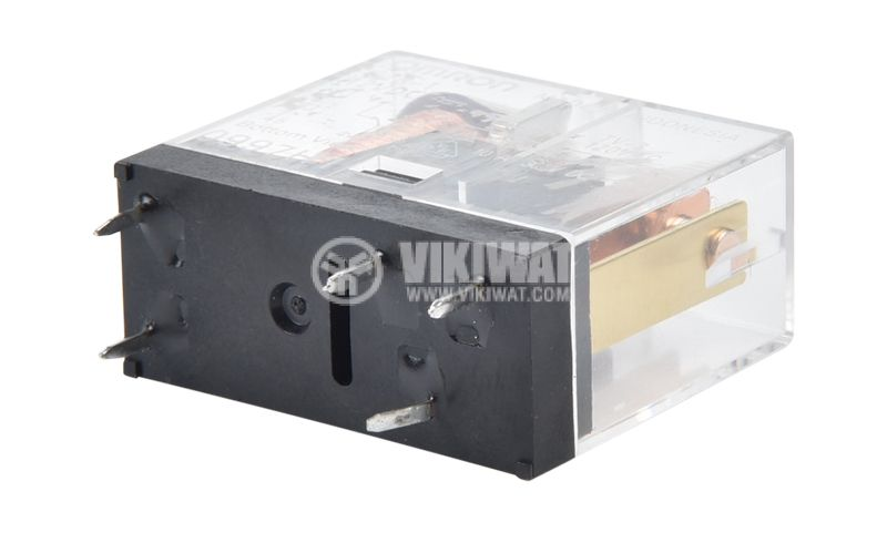 Electromagnetic relay G2R-1, with coil 12VDC, 250VAC / 10A, SPDT - 3
