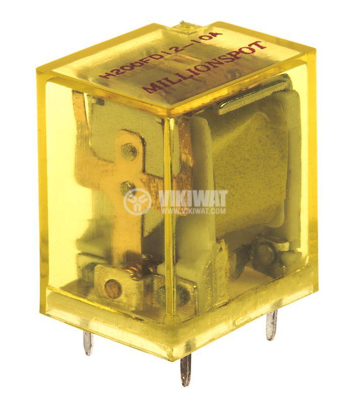 Реле електромагнитно с бобина 12VDC - 1