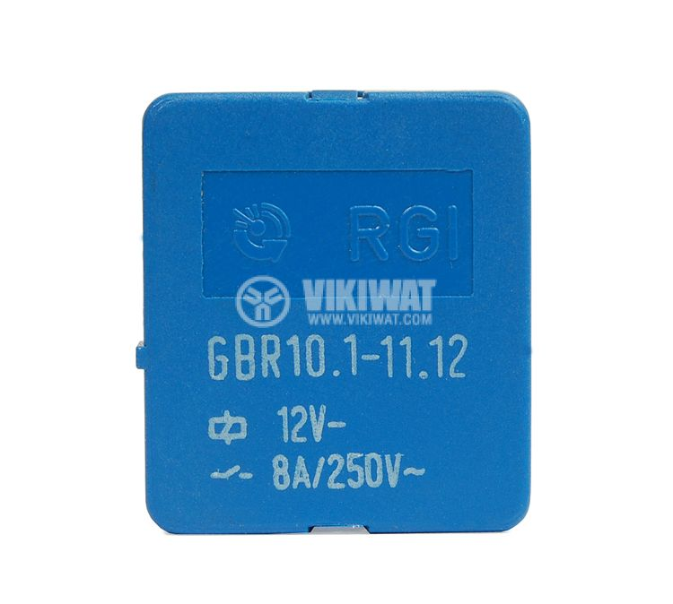 Relay electromagnetic GBR10.1-11.12 coil 12V - 2