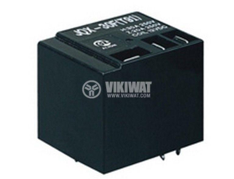 Електромагнитно универсално  реле, JQX-30F(T91) ,12VDC  240VAC/20A SPDT - NO+NC - 1