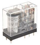 Реле електромагнитно универсално бобина JQX-14FC2Z, 12VDC 250VAC, 5A, DPDT, 2NO+2NC - 1